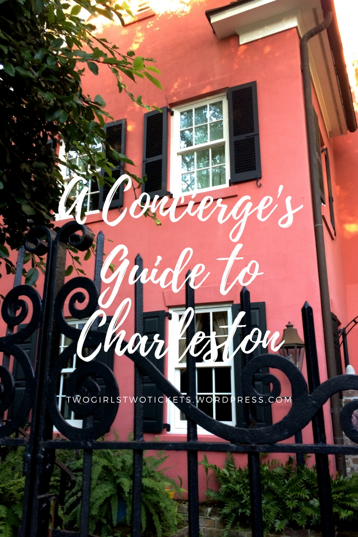 A Concierge's Guide to Charleston